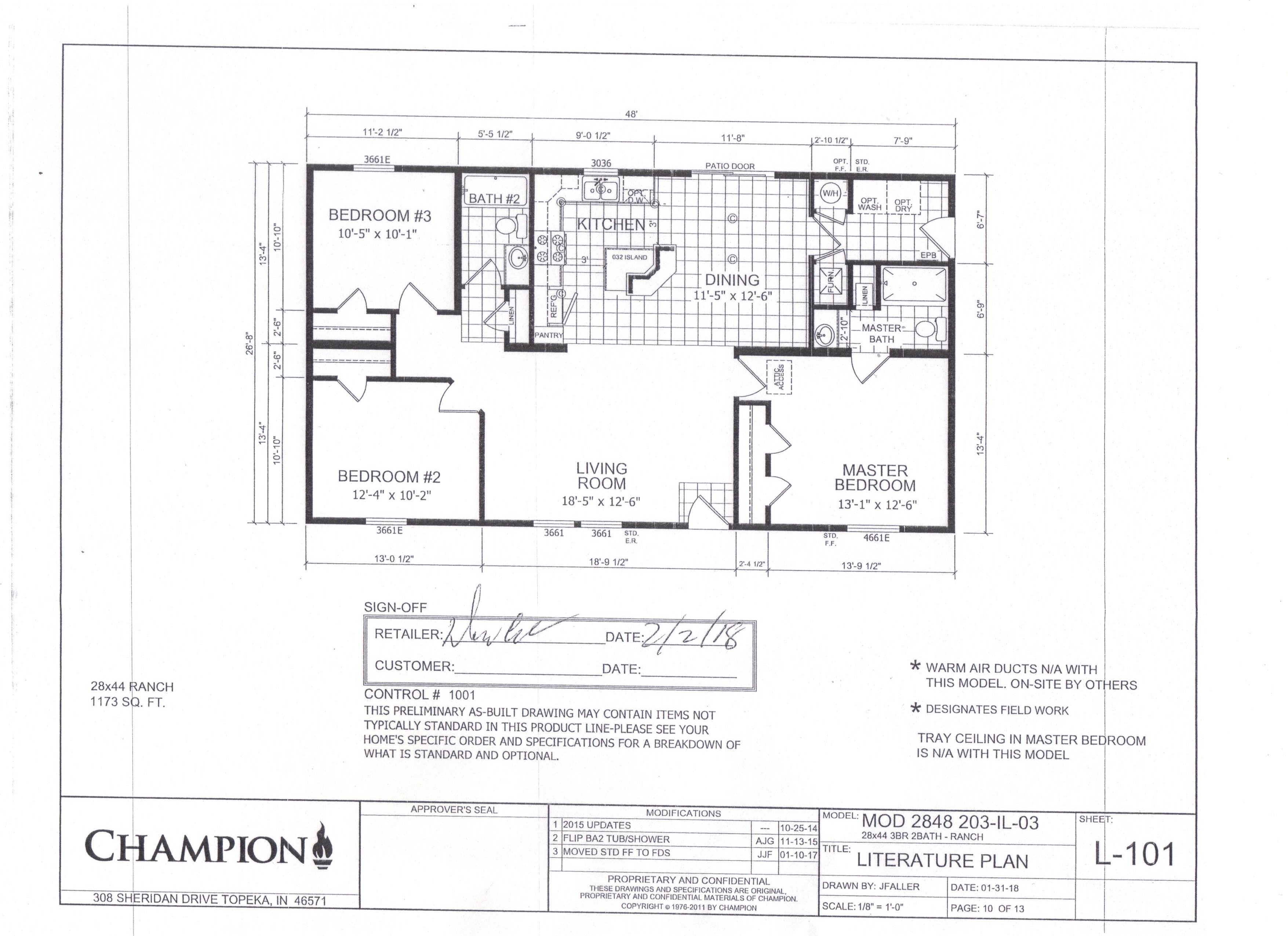 1300 Sq Ft 3 Bed 2 Ba Joe S House And Home